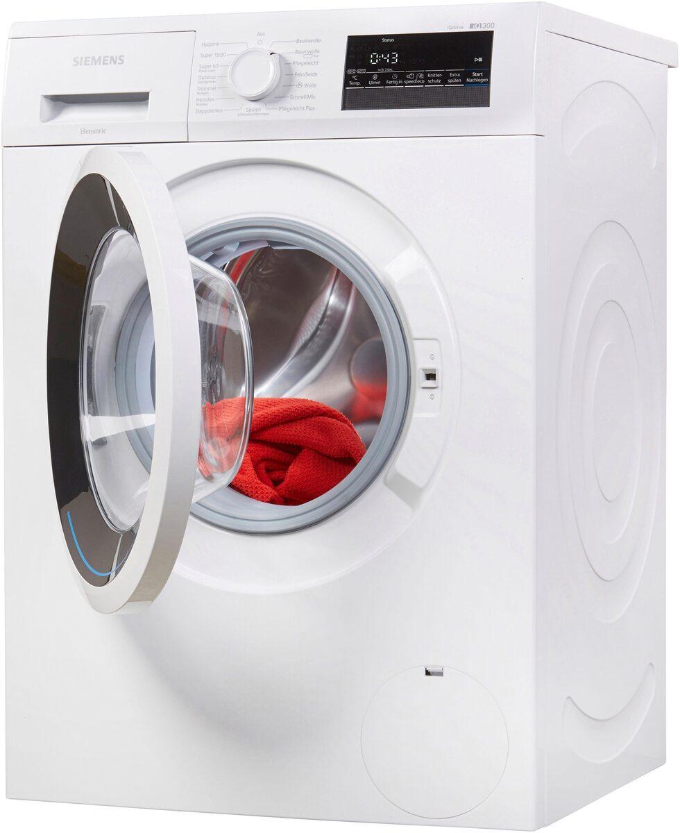 Bild 2 von SIEMENS Waschmaschine iQ300 WM14N2ECO, 7 kg, 1400 U/Min