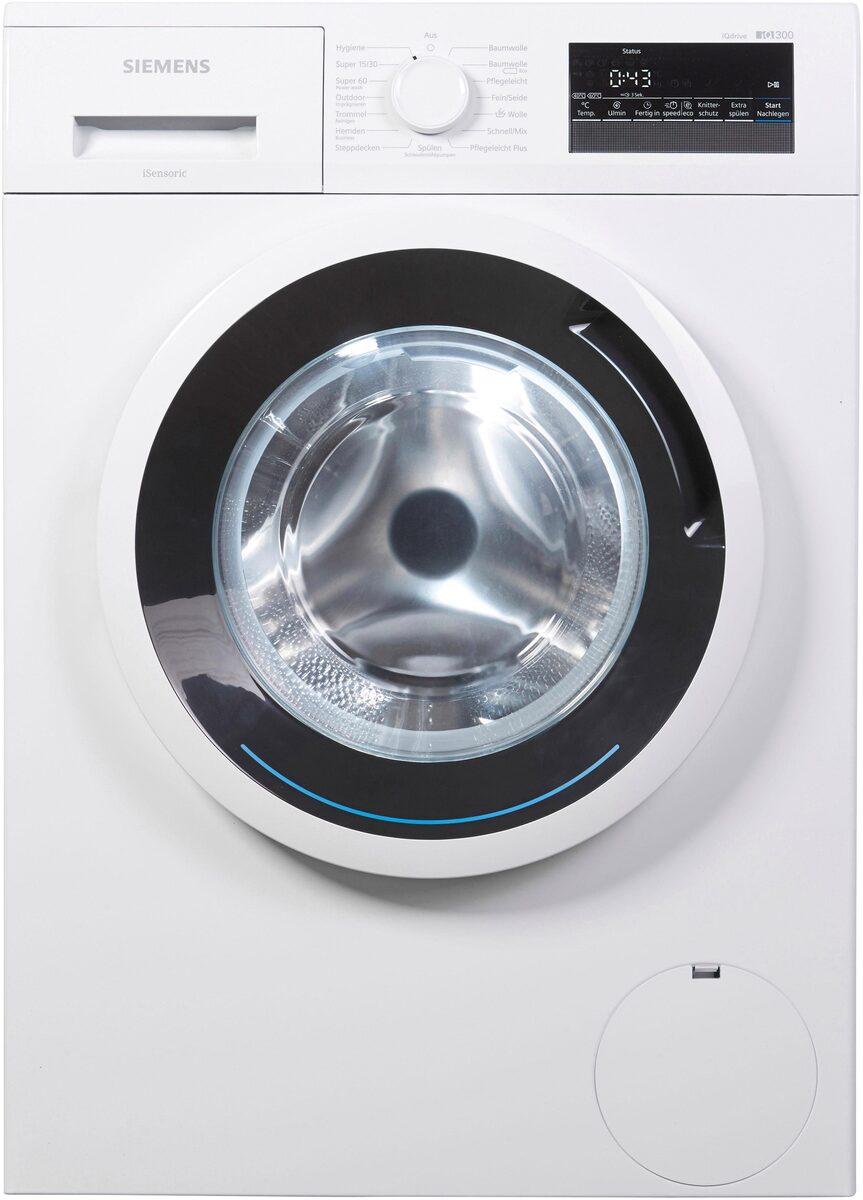 Bild 3 von SIEMENS Waschmaschine iQ300 WM14N2ECO, 7 kg, 1400 U/Min