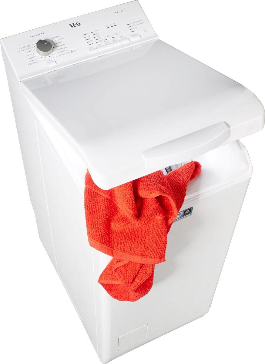 Bild 1 von AEG Waschmaschine Toplader L51060TL 913 103 501, 6 kg, 1000 U/Min, Nachlegefunktion