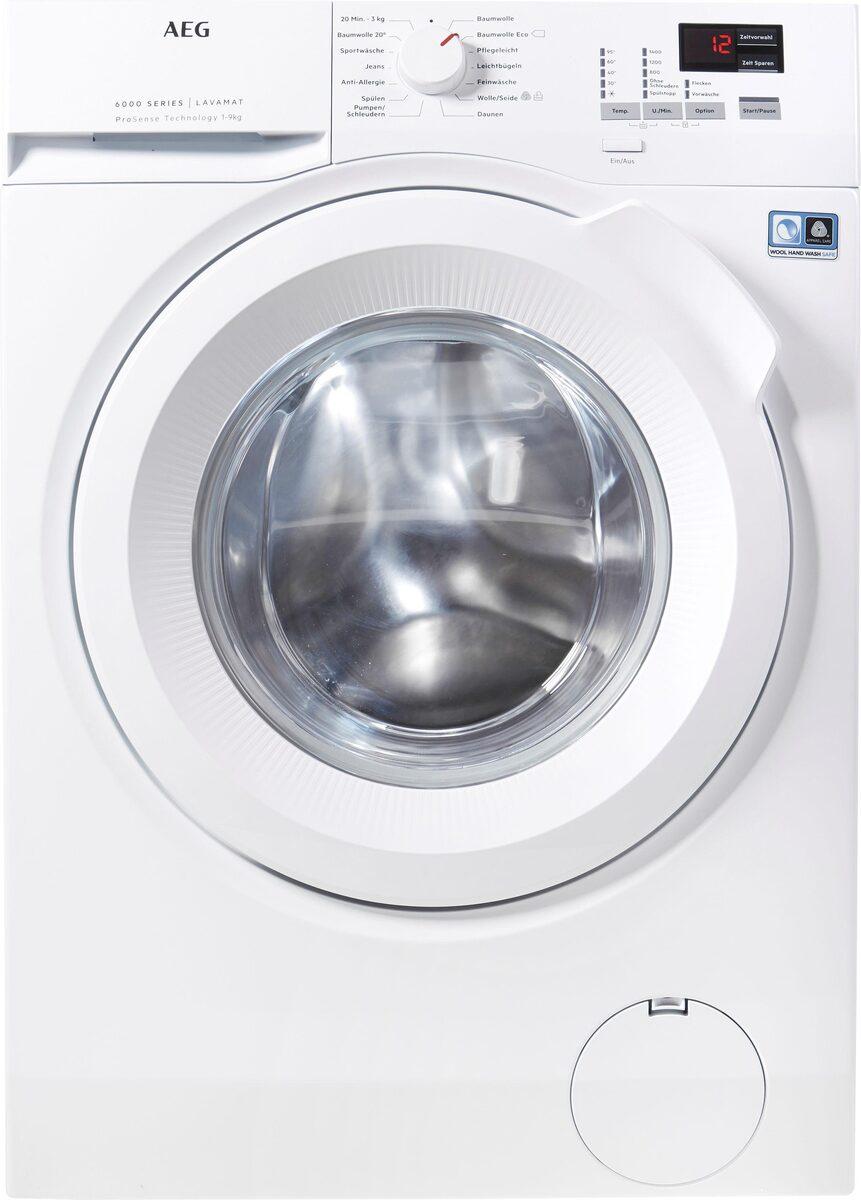 Bild 3 von AEG Waschmaschine L6FBA494, 9 kg, 1400 U/Min, ProSense - Mengenautomatik