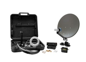 Xoro HD-Camping Satellitenantennen-Set