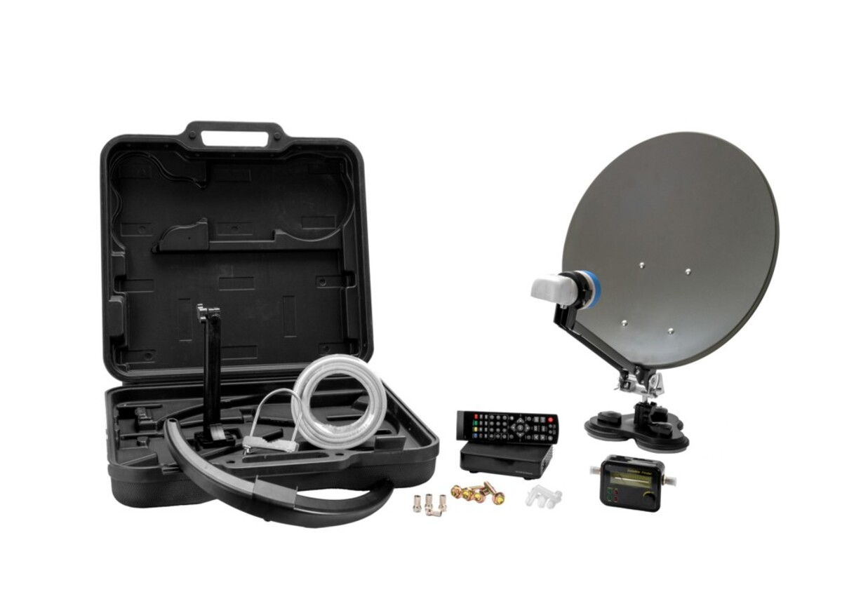 Bild 1 von Xoro HD-Camping Satellitenantennen-Set