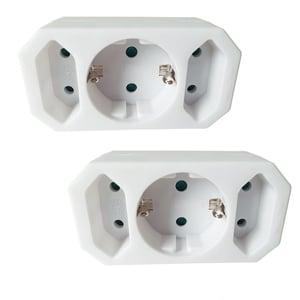Powertec Electric Adaperstecker 2er Set