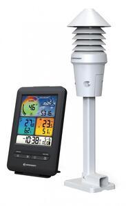 Bresser® W-LAN Farb-Wetterstation mit 4-in-1 UV-/Licht-Sensor