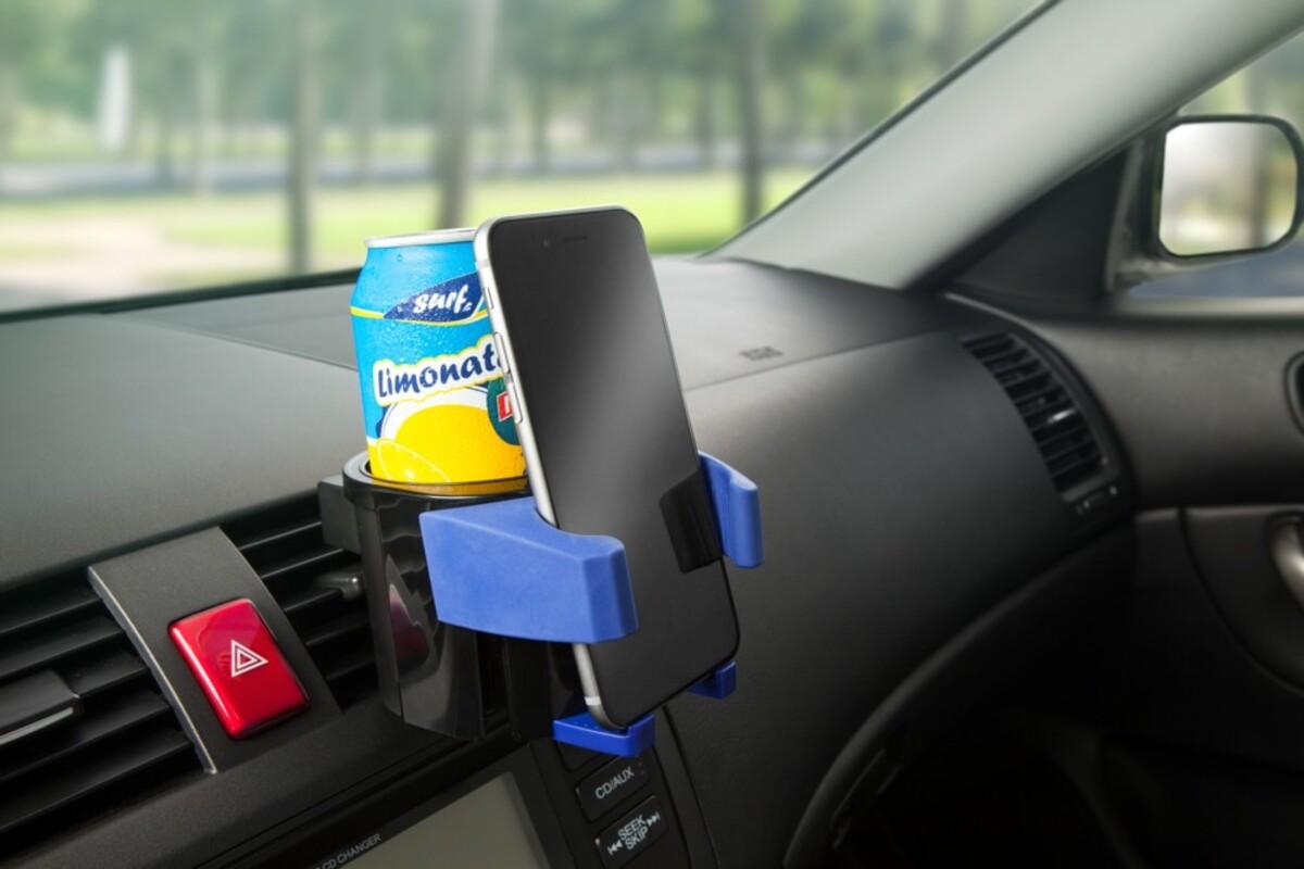 Bild 2 von Diamond Car 2in1 Smartphone-/Getränkehalter