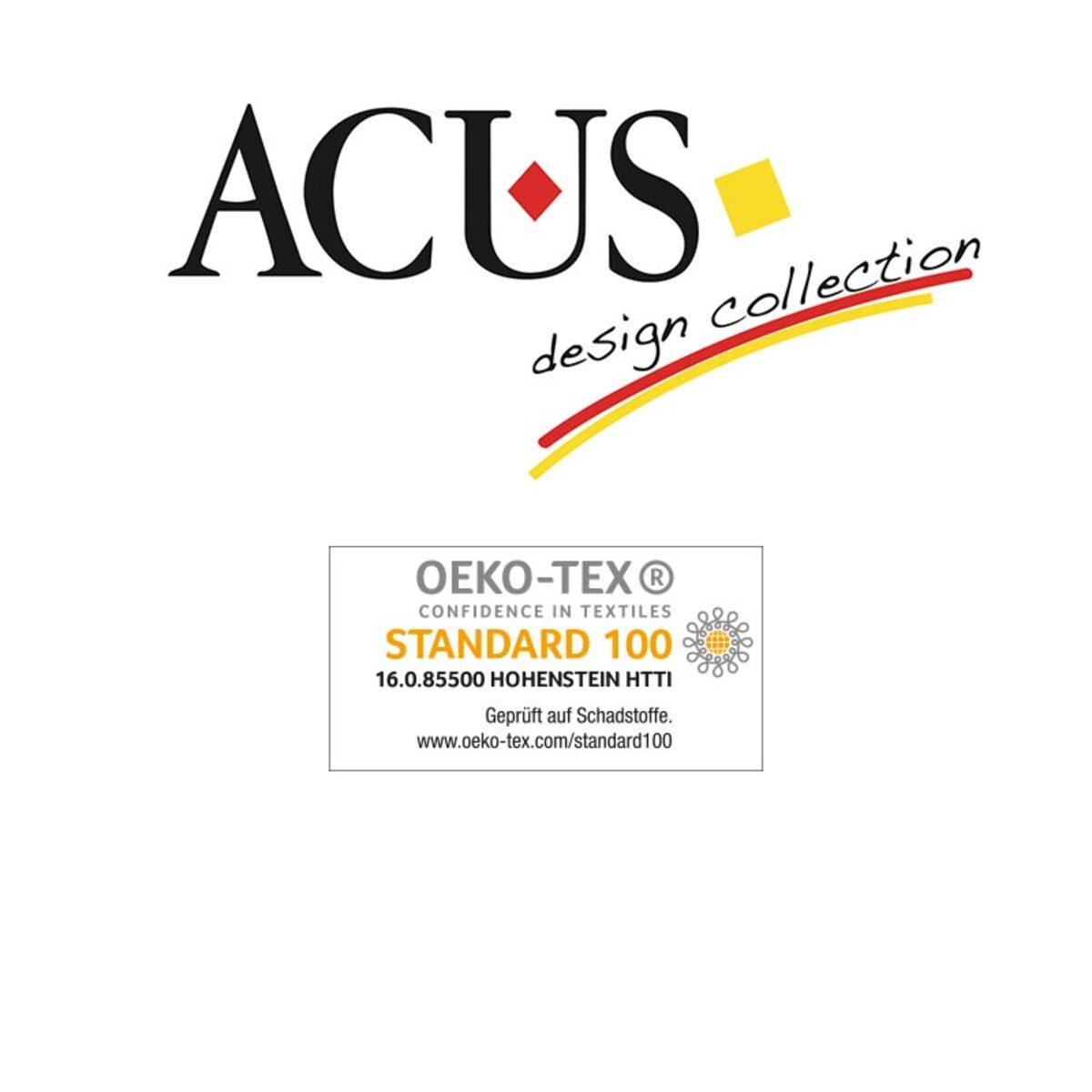 Bild 2 von Acus Anti-Stress-Gewichtsdecke ca. 135x200 cm mit Wendeoptik grau