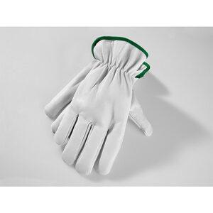 Powertec Garden Winter Ziegenleder Handschuhe, Größe 9 - grün