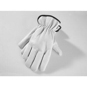 Powertec Garden Winter Ziegenleder Handschuhe, Größe 11 - schwarz