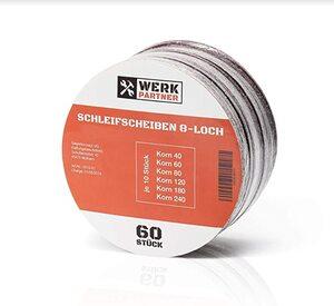 Werk-Partner - 60 x Schleifscheiben 125mm