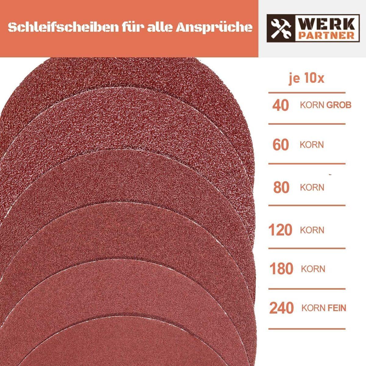 Bild 4 von Werk-Partner - 60 x Schleifscheiben 125mm
