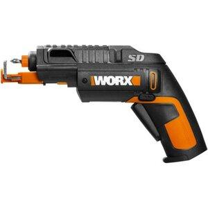 Worx Akkuschrauber 4 V WX255 mit Schraubenhalter