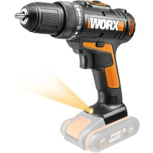 Worx 20 V Akku-Bohrschrauber WX101.9 Solo