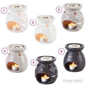 Duftlampe aus Keramik in verschiedenen Varianten