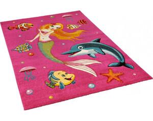 Teppich Diamond Kids ca. 120 x 170 cm pink
