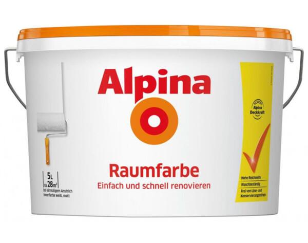 Alpina Raumfarbe 5 Liter