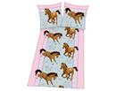 Bild 1 von Baumwoll Bettwäsche Linon Pferde 135 x 200 cm