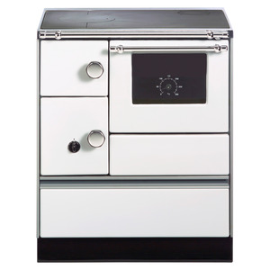 Küchenofen 'Westminster K 176 A' weiß Anschlag rechts 5,2 kW