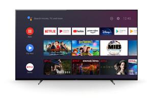 Sony KD-65A89 Bravia OLED TV (65 Zoll (164 cm), 4K UHD, Smart TV, Android TV, (UHD), High Dynamic Range (HDR), Sprachfernbedienung, 2020 Modell, schwarz)