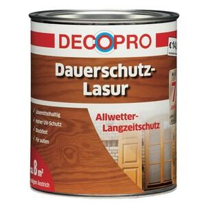 DecoPro Dauerschutzlasur seidenglänzend 750 ml in eiche