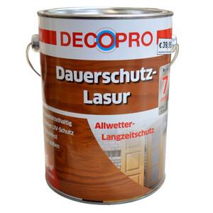 DecoPro Dauerschutzlasur seidenglänzend 2,5 Liter in teak