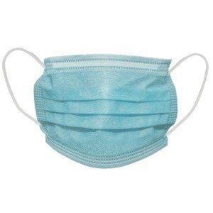 Mund-Nasen-Gesichtsmaske 3-lagig 50er Pack 1 St