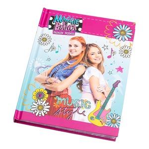 Maggie und Bianca Tagebuch im Musik-Style