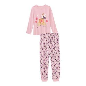Mädchen-Schlafanzug mit Feen-Motiv, 2-teilig