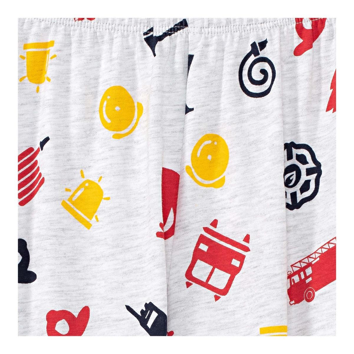 Bild 2 von Jungen-Schlafanzug mit Feuerwehr-Muster, 2-teilig