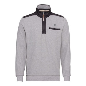 Herren-Sweatshirt mit Kontrast-Einsätzen