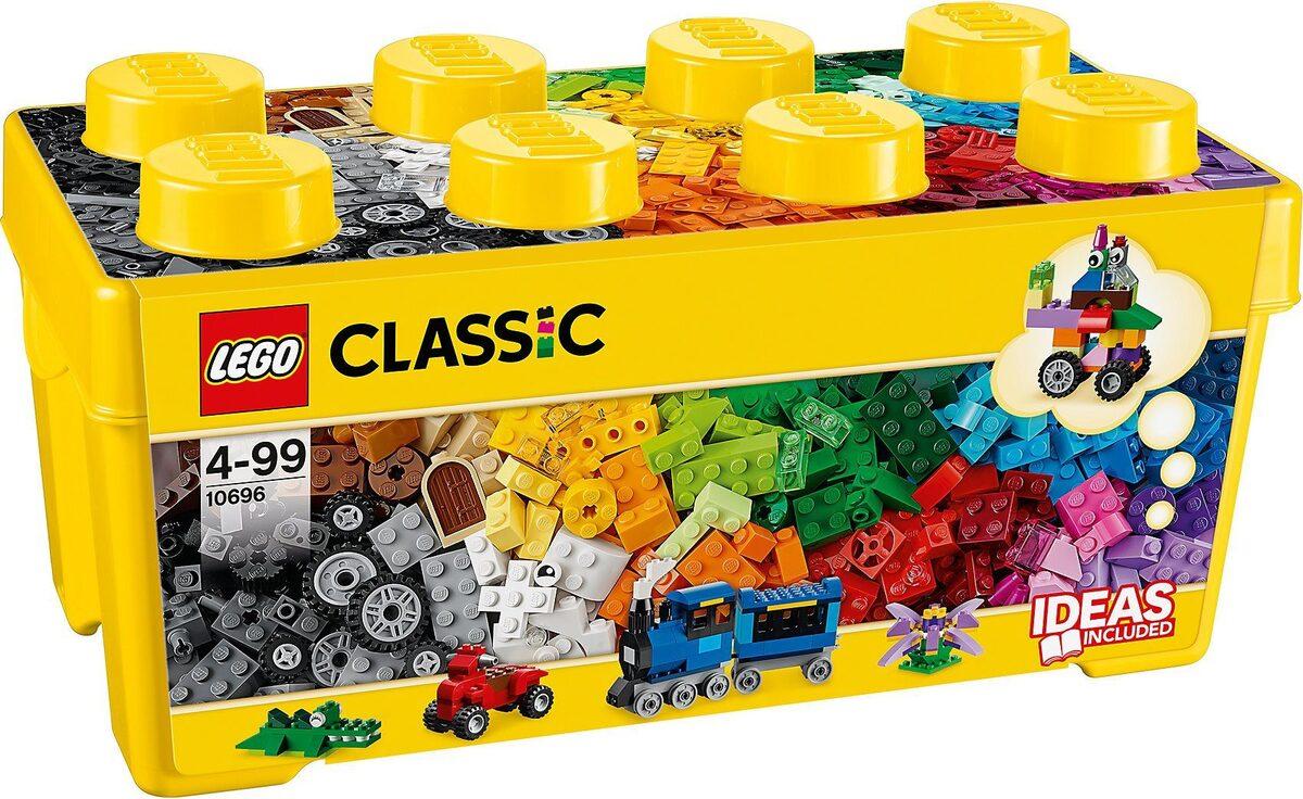 Bild 1 von LEGO® Konstruktions-Spielset »LEGO 10696 Classics: Mittelgroße Bausteine-Box«