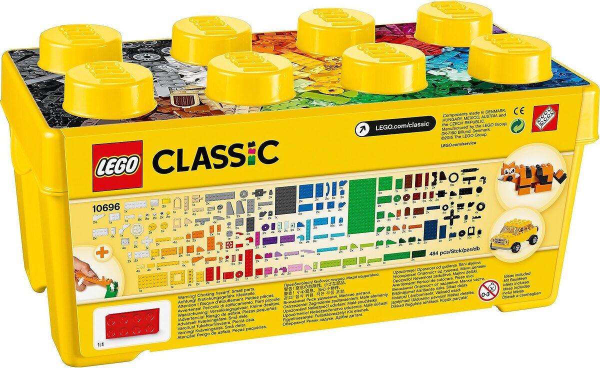 Bild 3 von LEGO® Konstruktions-Spielset »LEGO 10696 Classics: Mittelgroße Bausteine-Box«