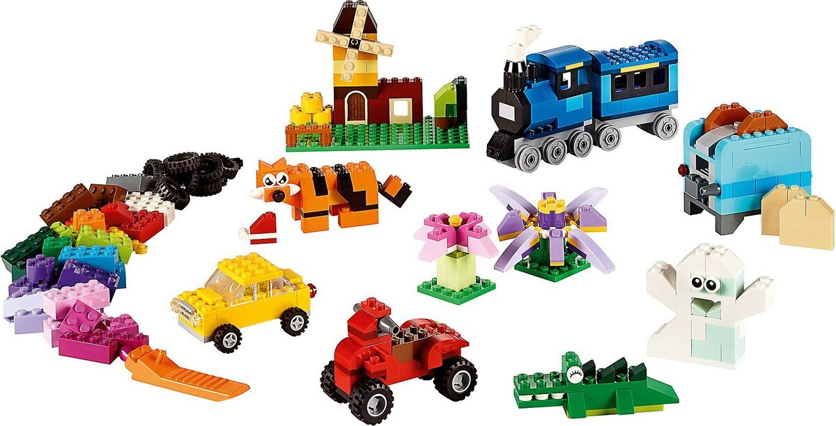 Bild 4 von LEGO® Konstruktions-Spielset »LEGO 10696 Classics: Mittelgroße Bausteine-Box«