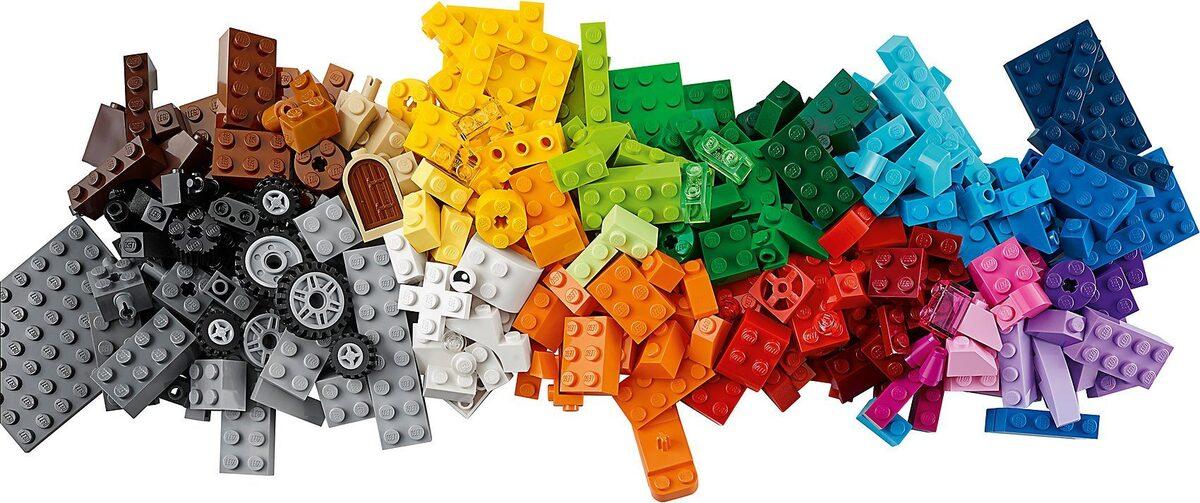 Bild 5 von LEGO® Konstruktions-Spielset »LEGO 10696 Classics: Mittelgroße Bausteine-Box«
