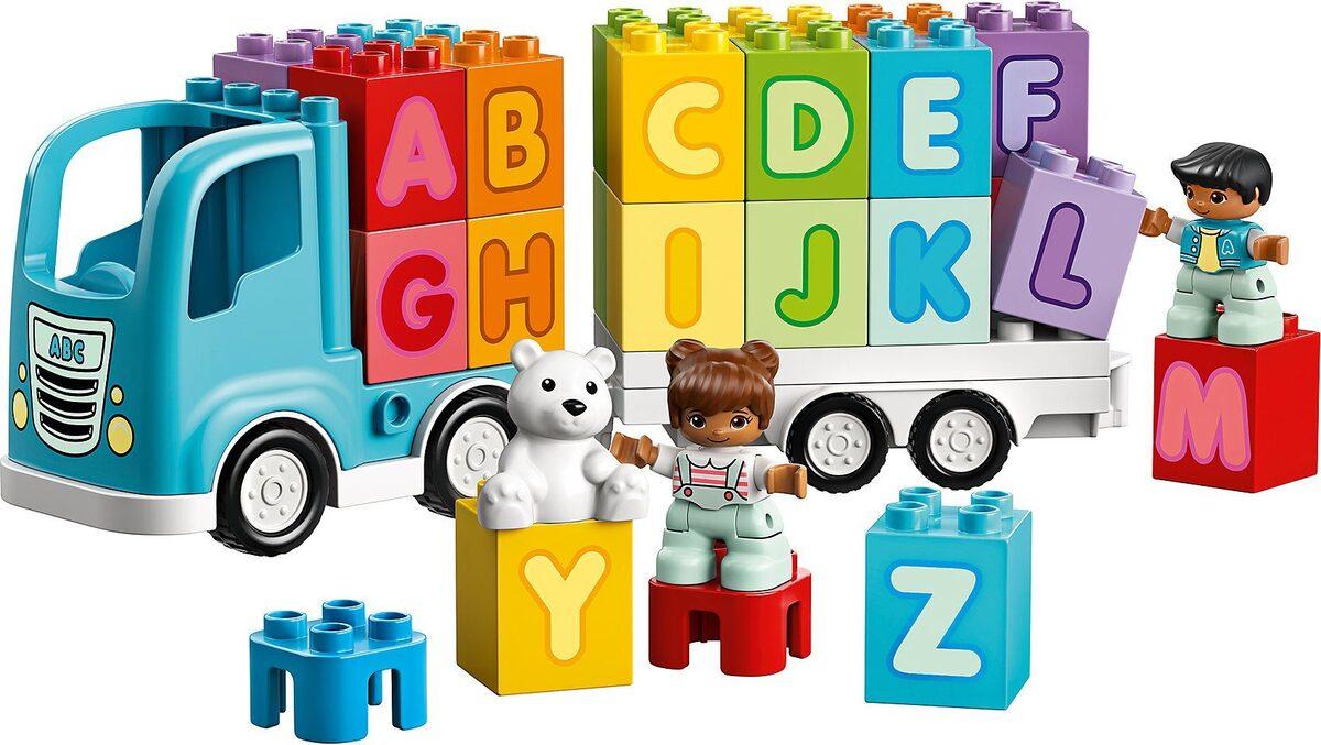 Bild 4 von LEGO® Spielbausteine »LEGO® DUPLO 10915 Mein erster ABC-Lastwagen«