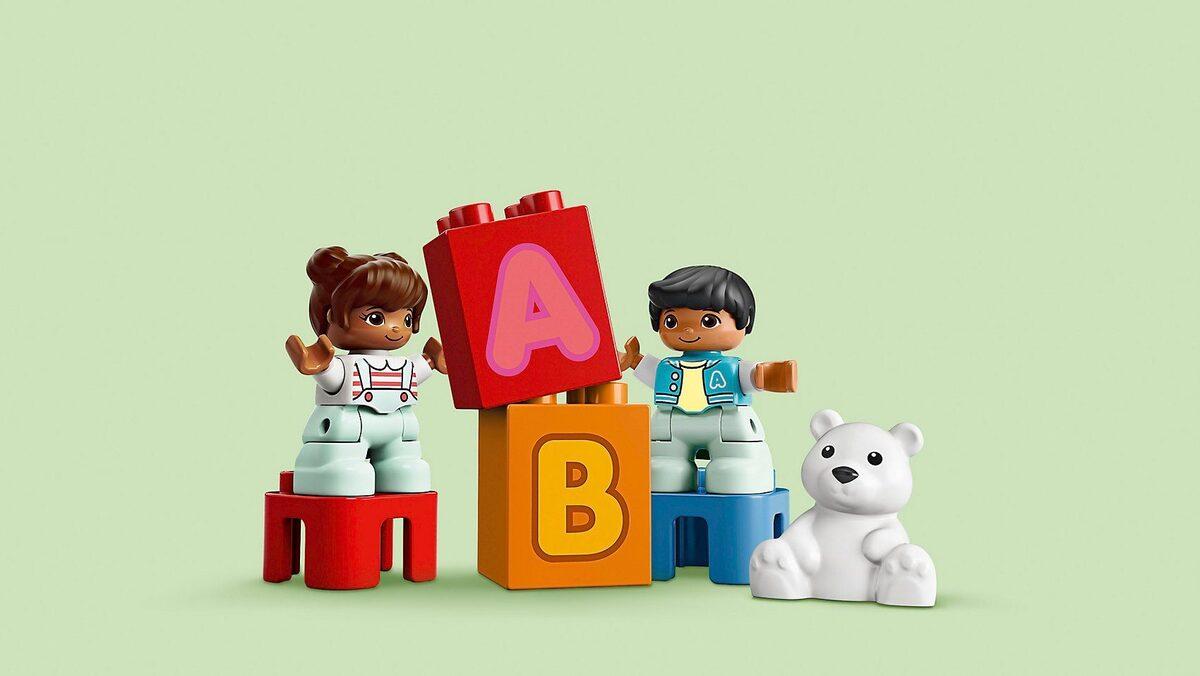Bild 5 von LEGO® Spielbausteine »LEGO® DUPLO 10915 Mein erster ABC-Lastwagen«