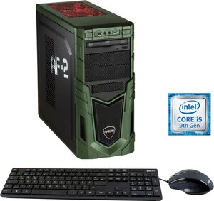Hyrican Military Gaming 6455 Gaming-PC (Intel® Core i5, RTX 2060 SUPER, 16 GB RAM, 1000 GB HDD, 480 GB SSD, inkl. Office-Anwendersoftware Microsoft 365 Single im Wert von 69 Euro)