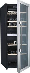 Hanseatic Weinkühlschrank 41677525 JC-201S mit 2 regelbaren Temperaturzonen, für 77 Standardflaschen á 0,75l