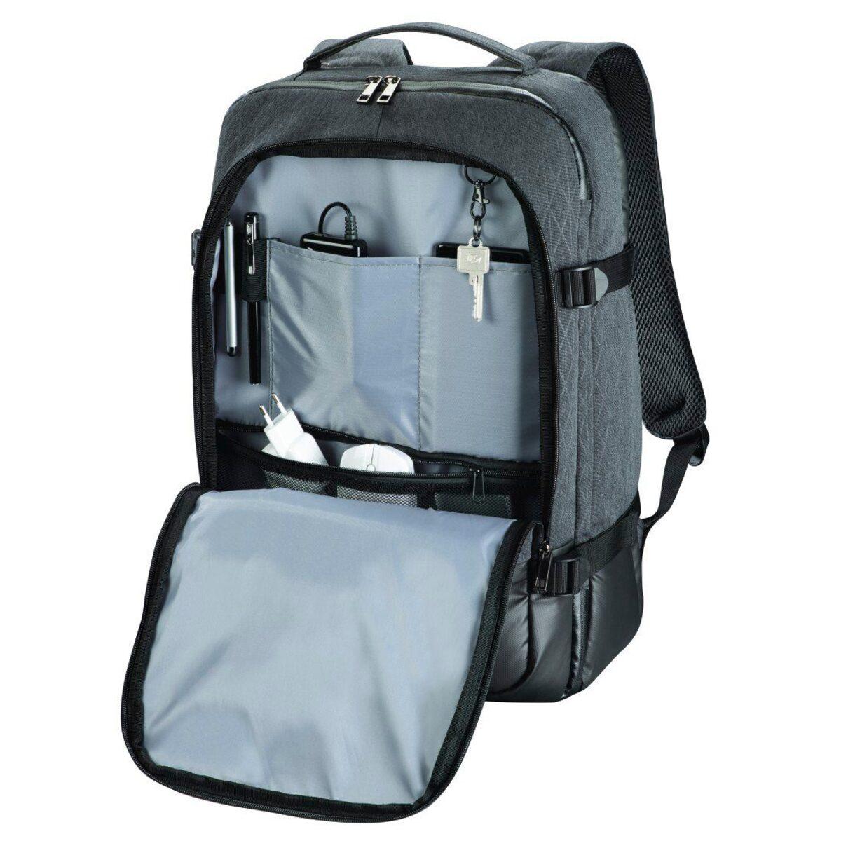"""Bild 2 von Hama Notebook-Rucksack """"Day Trip Traveller"""", bis 40 cm (15, »Laptoprucksack Grau«"""
