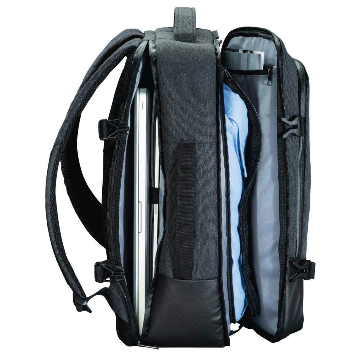 """Bild 4 von Hama Notebook-Rucksack """"Day Trip Traveller"""", bis 40 cm (15, »Laptoprucksack Grau«"""