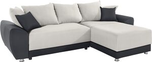 COLLECTION AB Ecksofa »Yaelle«, wahlweise mit Bettfunktion oder LED-RGB-Beleuchtung