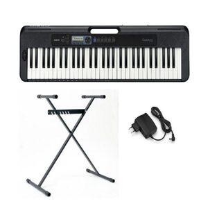 CASIO Keyboard »Casiotone CT-S300«, (Set, 2 tlg), inkl. Keyboardstativ
