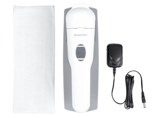 SILVERCREST® Akku-Fensterwischer, mit Vibrationsfunktion, Lithium-Ionen-Akku, Wischtuch