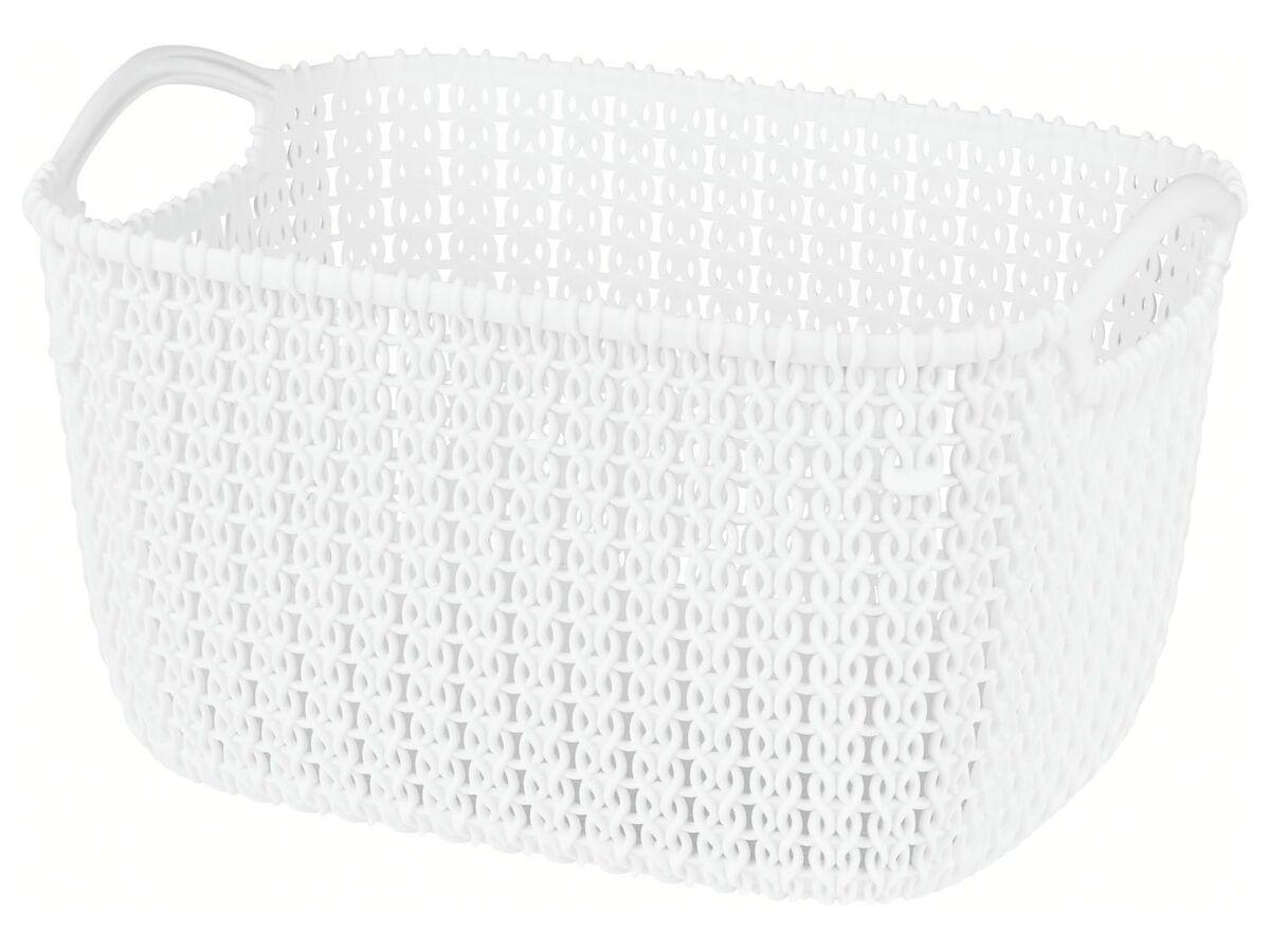 Bild 5 von Curver Korb, in Strickoptik, stapelbar, aus Kunststoff