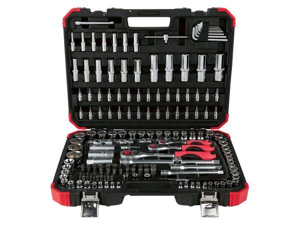Gedore Steckschlüsselsatz »R45603172«, 172-teilig, mit Koffer, aus Chrom-Vanadium-Stahl