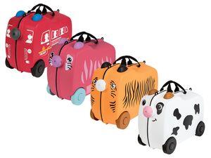 TOPMOVE® Kinder-Reisekoffer, 18 Liter Fassungsvermögen, mit Sitzmulde