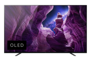 SONY KD-55A8 OLED TV (Flat, 55 Zoll/139 cm, OLED 4K, SMART TV, Android TV)