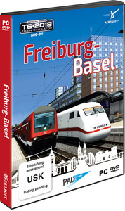 Trainsim 2018 AddOn: Freiburg - Basel [PC]