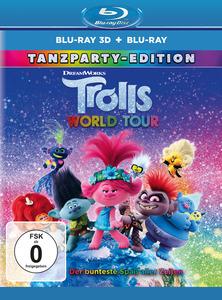 Trolls World Tour (3D Blu-ray) (+ Blu-ray 2D) [3D Blu-ray (+2D)]
