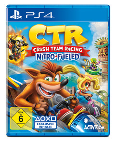 CTR Crash Team Racing Nitro Fueled [PlayStation 4]