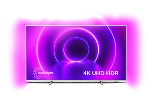 PHILIPS 70PUS8545/12,  LED TV, Metallblende in Hellsilber